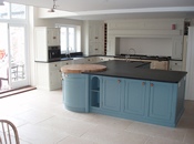 Custom Design Fitted Kitchen with Island Unit : View 1