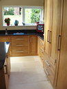 Oak Shaker Style Kitchen with Black Granite Work Surface : View 4