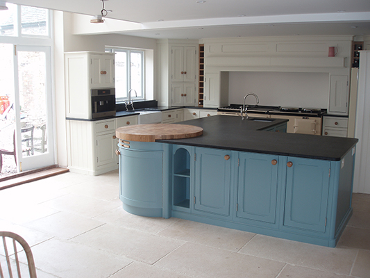 Bespoke kitchens bristol joinery for Fitted kitchen dresser unit