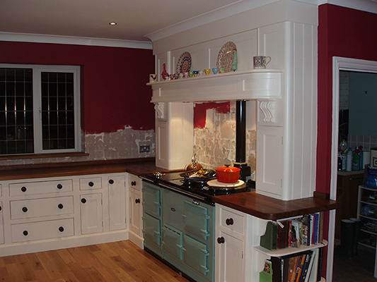 Shaker style complete kitchen refit view 1